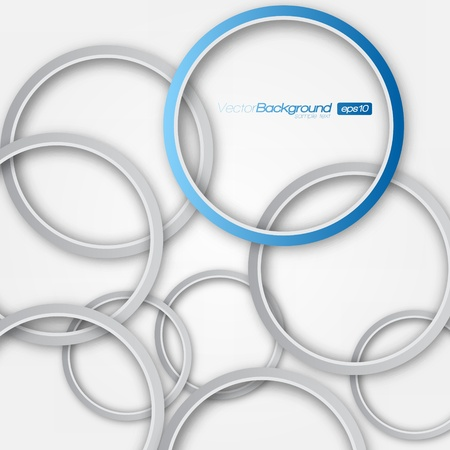 Abstract 3D Circle Design Stock Vector - 15282701