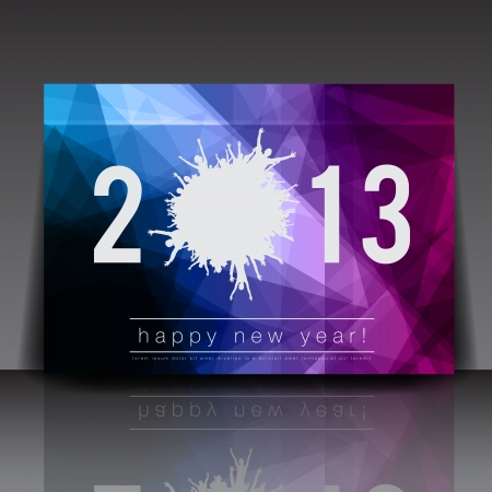 club flyer: 2013 New Year Flyer Template