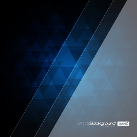 Abstract Modern Blue background for Your Text Stock Vector - 15775552