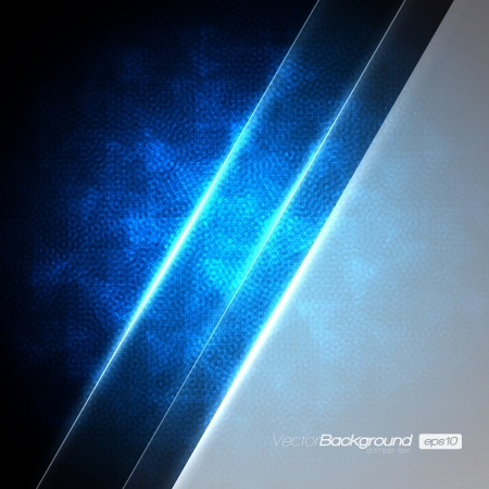 back to the future: Blue Abstract Background