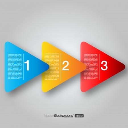 Next Step Arrow Boxes |  Design Stock Vector - 15883975