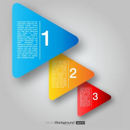 삼각형: 다음 단계 화살표 박스 | 디자인