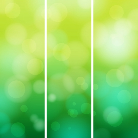 Green abstract light background   Vector illustration Stock Vector - 16135532