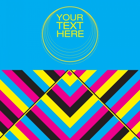 cmyk abstract: Abstract Cover Design