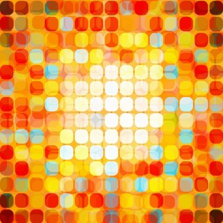 Abstract Seamless Mosaic Stock Vector - 17052956