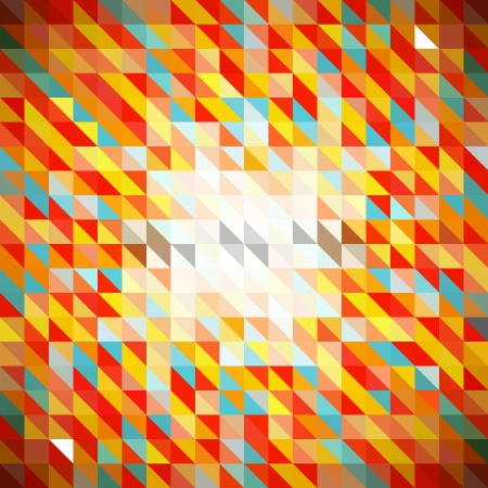Abstract Seamless Mosaic  Ilustrace