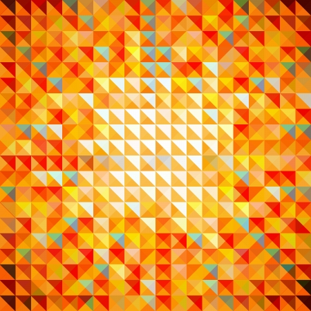 triangle shape: Abstract Seamless Mosaic