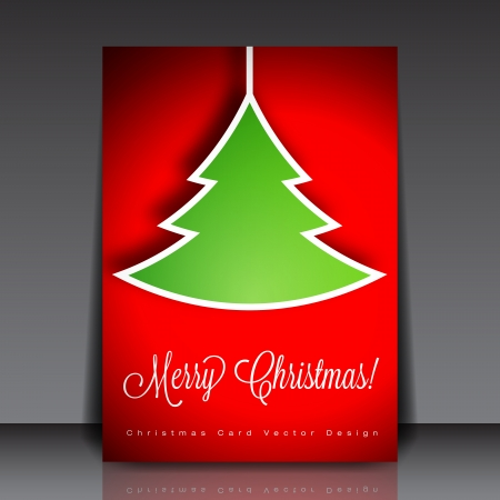 Christmas Flyer Template Stock Vector - 17052963