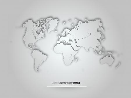 3D world illustration -  design Vector
