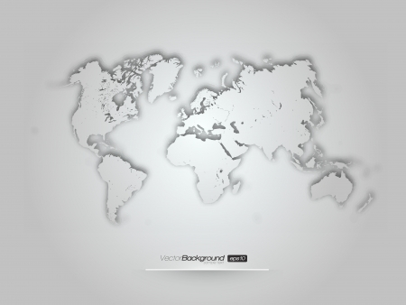 3D world illustration -  design