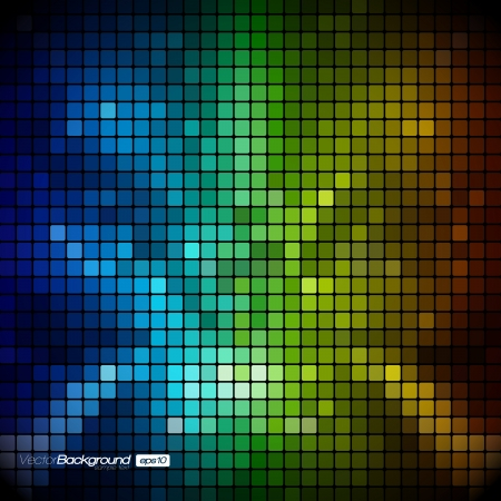 Abstract Mosaic Background Stock Vector - 16872642