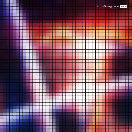 Abstract Mosaic Background Stock Vector - 16872660