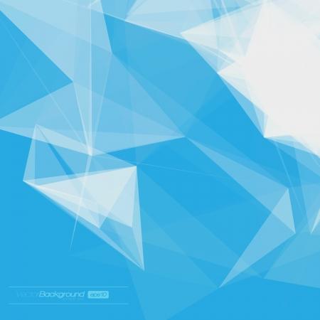 fondo geometrico: Fondo Abstracto Geom�trico Ilustraci�n para el dise�o EPS10