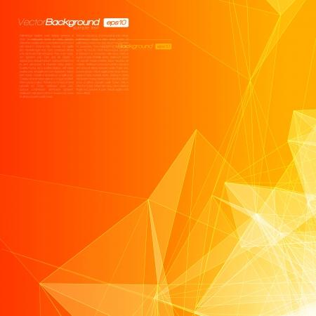 tecnologia: Sfondo geometrica astratta per il design EPS10