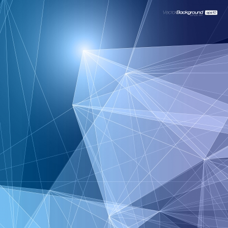 Abstract Geometric Background for Design   EPS10 Illustration Stock Vector - 17192017
