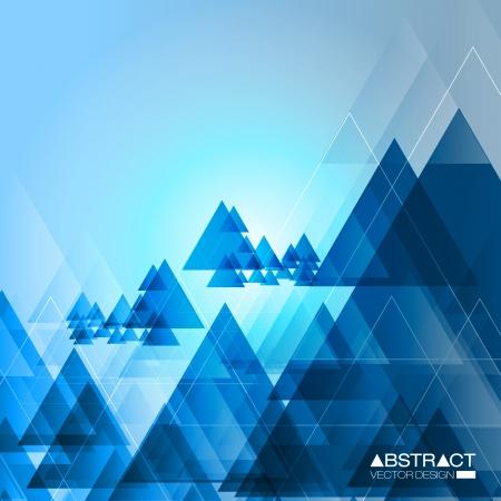 Contexte Triangle Résumé - EPS10 Vector Design Concept