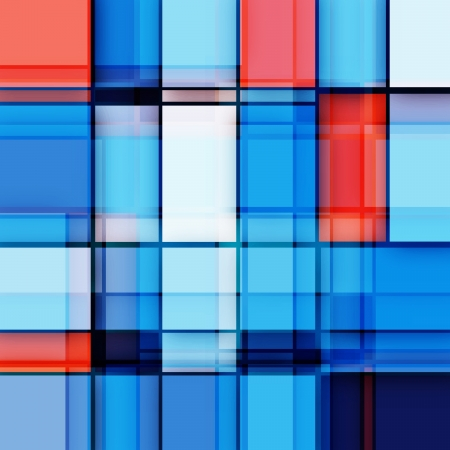 Abstract Squares Background - Vector Design Concept Ilustrace