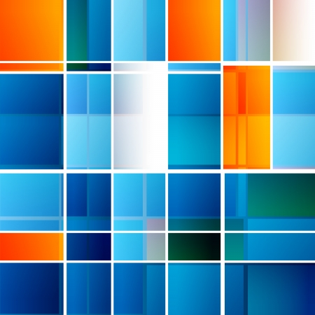 cube box: Abstract Squares Background - Vector Design Concept Illustration
