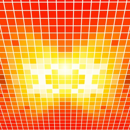 Red Perspective Mosaic Vector Background   EPS10 Illustration Stock Vector - 18098192