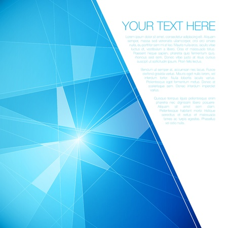 Abstract Geometric Background for Your Text Stock Vector - 18098158