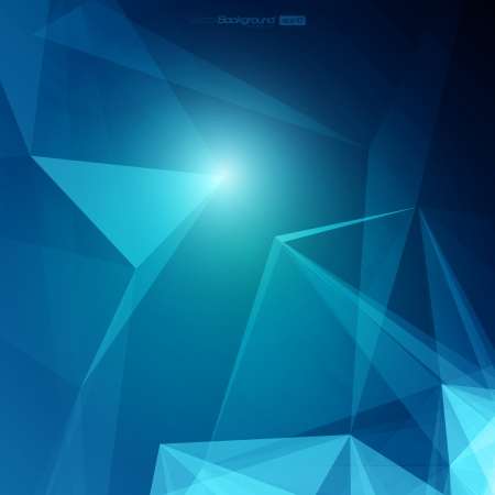 3D Abstract Geometric Background for Design   EPS10 Illustration Ilustrace