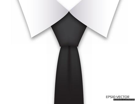 lazo negro: Empresas de diseño de tarjeta de diseño moderno con corbata Negro