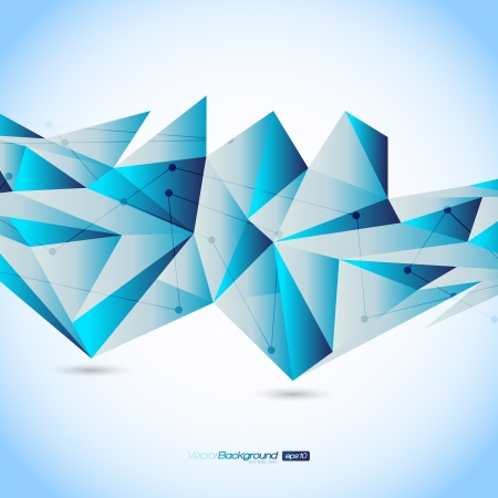 geometrisch: Bunte Geometrische Design Layout Hintergrund Illustration
