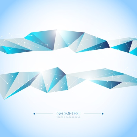 Colorful Geometric Design Layout  Background Stock Vector - 18277631