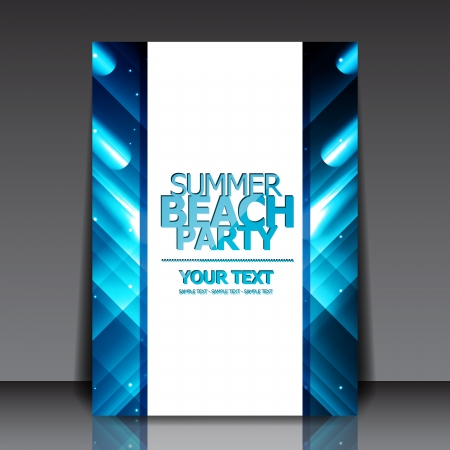 Design for Summer Party Flyer