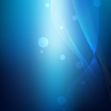Blue Modern Business Lines Vector Background Reklamní fotografie - 19897729