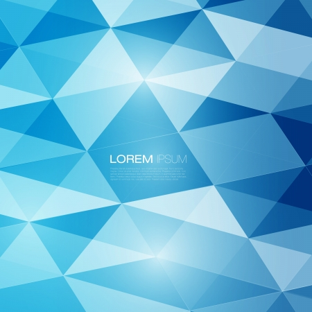 Abstract mesh background with lines and shapes   Futuristic Design Vector