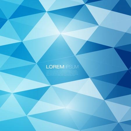 blue: Tóm tắt lưới nền với các đường và hình dạng lai Thiết kế Hình minh hoạ