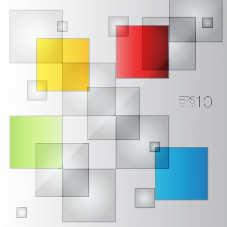 Abstract Squares Vector Background Stock Vector - 25013465