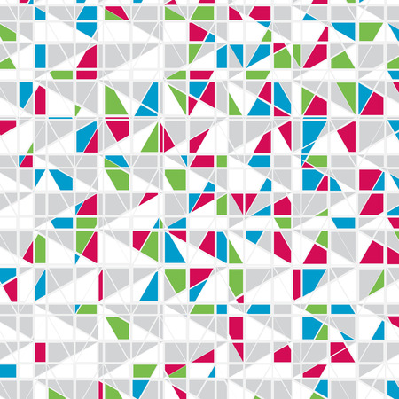Colorful Mosaic Vector Background   Illustration