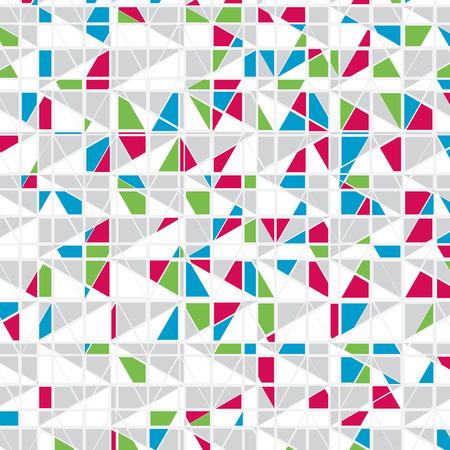 Colorful Mosaic Vector Background Reklamní fotografie - 25041672