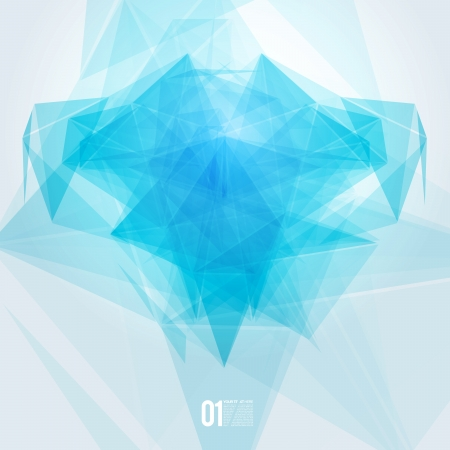Abstract mesh background with lines and shapes   EPS10 Futuristic Design Illustration