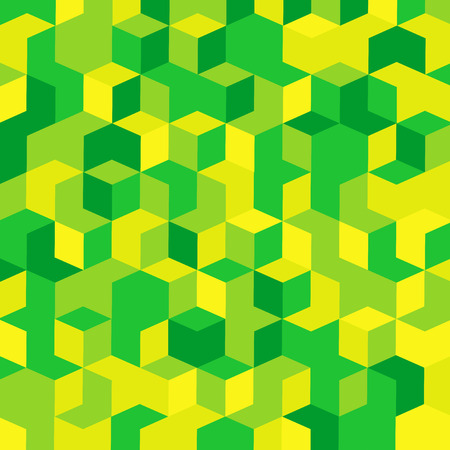 Green and Yellow Abstract Background  Vector