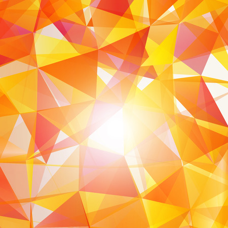 Abstract mesh background with shapes   EPS10 Design Vector