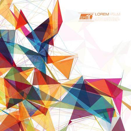 graphics: Abstracte maas achtergrond met cirkels, lijnen en vormen EPS10 Futuristische Design Stock Illustratie