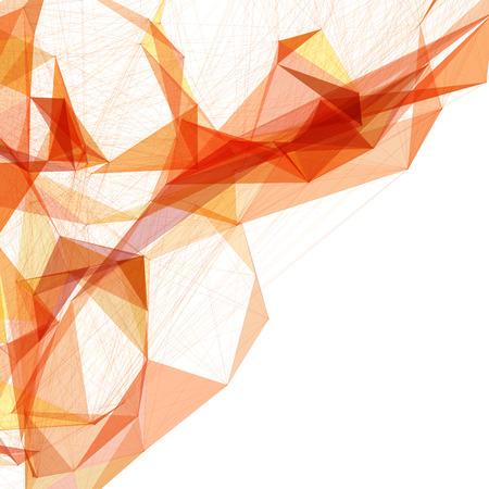 abstrakt: Abstrakt Mesh Hintergrund mit Kreisen, Linien und Formen   EPS10 futuristische Design