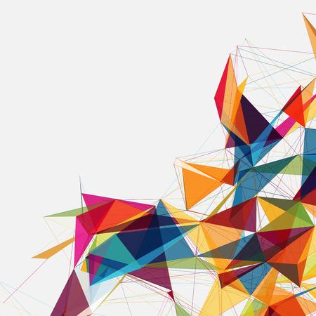 formas abstractas: Formas Fondo abstracto   Dise�o futurista EPS10 Vectores