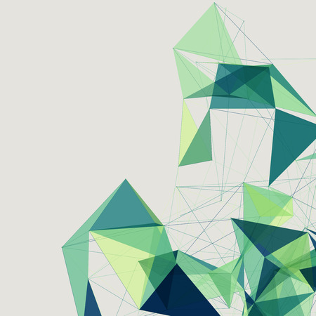 Abstract shapes background | EPS10 Futuristic Design Vector