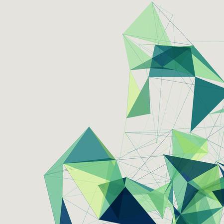 geometria: Formas Fondo abstracto | Dise�o futurista EPS10 Vectores