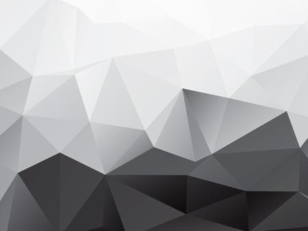 Abstracte Veelhoeken vorm achtergrond Stock Illustratie