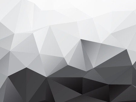 Abstract Polygons Shape Background Illustration