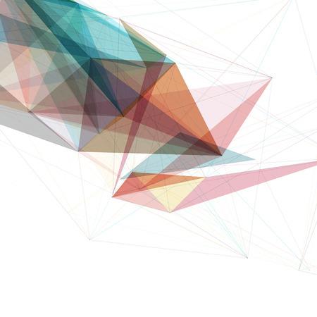 芸術的: 抽象的なメッシュ バック グラウンド