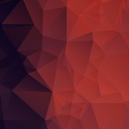red and black: Abstract Polygonal Background
