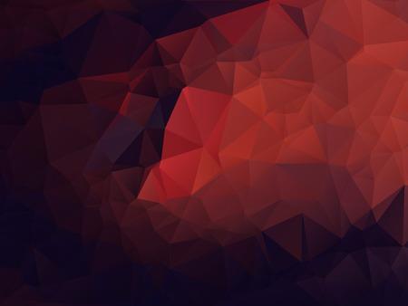 抽象的な背景が多角形