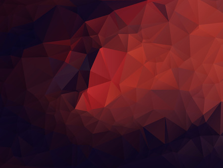 Abstract Polygonal Background Ilustração