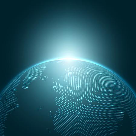 Moderne Globe Vector Illustration | Contexte EPS10